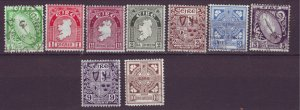 J20725 Jlstamps from a set various 1940-2 ireland used #106//116 designs