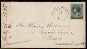 USA 1888 Colorado ESTES PARK COL Larimer County Cover 88109
