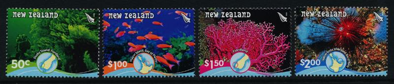 New Zealand 2162-7a MNH Reefs, Coral, Marine Life, Fish