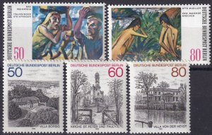 Germany #9N474-8 MNH CV $5.55  (Z3726)