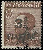 Italy Offices in Turkish Empire - 49 - Used - SCV-4.00