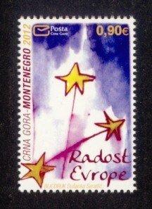 Montenegro Sc# 323 MNH Joy of Europe 2012