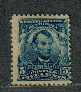 US Sc#304 M/NH/A, Cv. $150