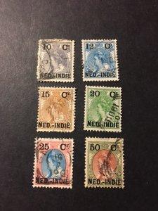 Netherlands Indies 31-36 u