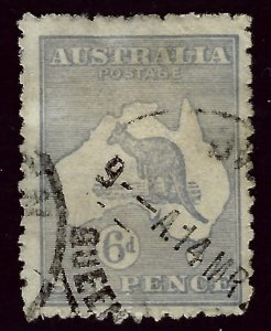 Australia SC#8 Used  Fine rough perfs SCV$27.50...Grab a Bargain!
