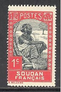 French Sudan 61 mint hinged SCV $ 0.25 (RS)
