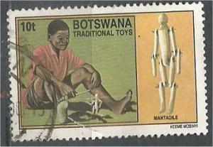 BOTSWANA, 1994, used 10t, Toys Scott 562