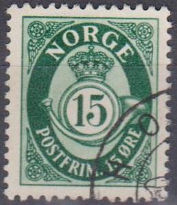 Norway #308 F-VF Used (B6745)