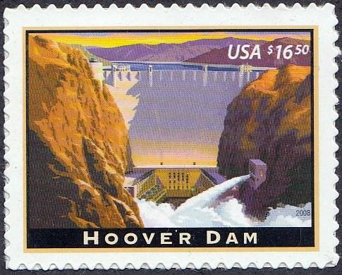 U.S. #4269 Hoover Dam, issued in 2008.Part of an American Landmarks Series. MNH