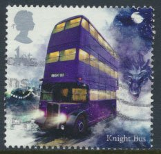 Great Britain SG 4150 Sc# 3789  Used  Harry Potter  Knight's Bus