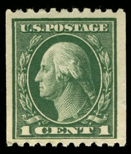 US US #441 VF/XF mint never hinged, paste up, extremely well centered, Choice!