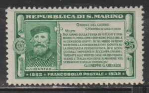 San Marino   SC  145  Mint  Hinged