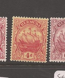 Bermuda SG 49a MOG (6aya)