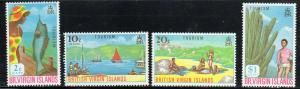 British Virgin Isl. MNH 202-5 Tourism 1969