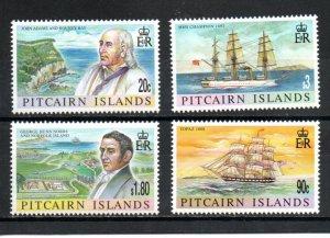 Pitcairn #801-804 MNH