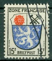 Germany - Allied Occupation - French Zone - Scott 4N7