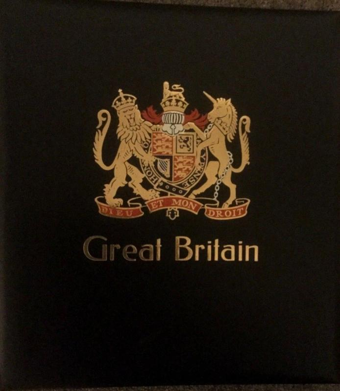 Stanley Gibbons, Great Britain Luxe Binder and Slipcase, Vol VI,  Pre-owned