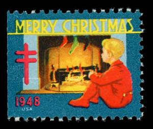 WX 141 Christmas Seal Mint (NH) 1948