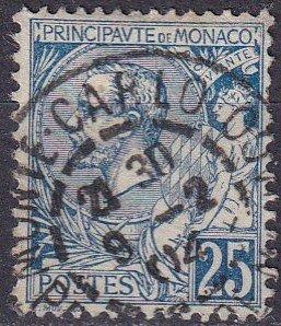 Monaco #21  F-VF Used CV $5.00  (Z5575)