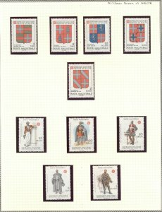MALTA: Military Sovereign Military Order - MNH Coats of Arms & Military Uniforms