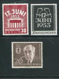 Berlin #9N99-100 Mint VF NH