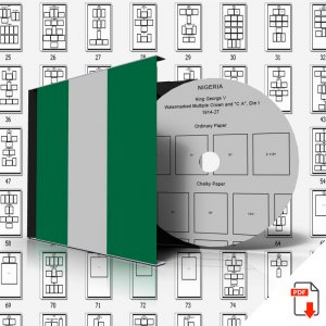 NIGERIA STAMP ALBUM PAGES 1914-2010 (99 PDF digital pages)