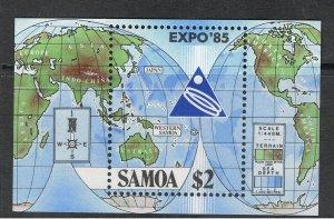 SAMOA 1985 EXPO 85