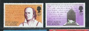 Pitcairn Islands 182-3 1979 John Adams set MNH