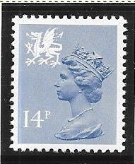 Great Britain-Wales & Monmouthshire # WMMH23 (MNH) $0.70