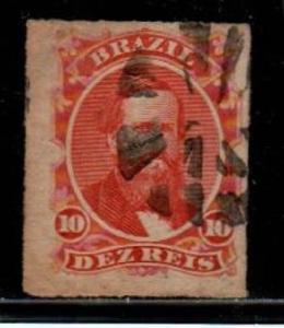 Brazil Scott 61 used (Catalog Value $42.50)