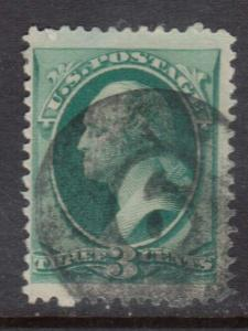 USA #184 Used With Negative 6 Or 9 Cancel