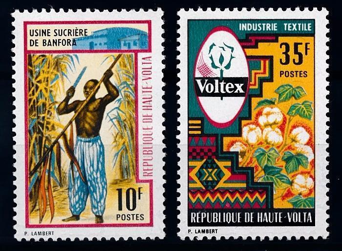 [66522] Burkina Faso Upper Volta 1971 Flora Plants Sugar Cotton  MNH