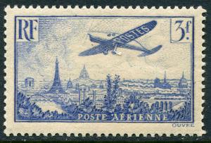 France Lot 6573 Poste Aerienne France RF 1934 Yvert 12 3 f. OG HR  Stamp