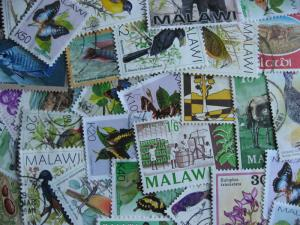 Internationals WW collection breakdown, Malawi 34 different
