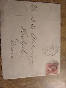 US 220 used on envelope