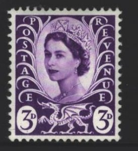 Wales and Monmouthshire Sc#1 MNH