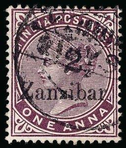 Zanzibar Scott 19D Gibbons 24D Used Stamp