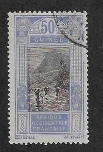 FRENCH GUINEA SC# 86  FVF/U    1913