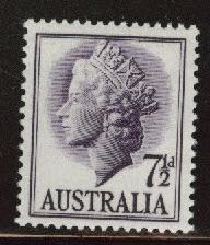 Australia Scott 297 MH* QE2 1957