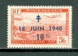ALGERIA AIR SEMI-POSTAL #CB2 ...MNH...$2.50