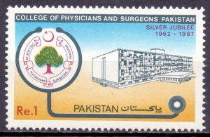 Pakistan. 1987. 710. Education. MNH.