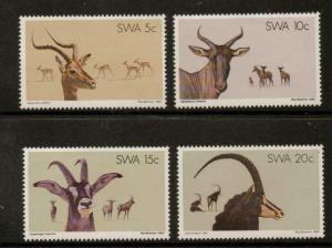 SOUTH WEST AFRICA SG345/8 1980 NATURE CONSERVATION MNH