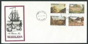 ST HELENA 1976 (28 Sept) Definitives FDC...................................43984