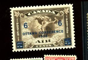 Canada #C4 MINT VF OG NH Cat $70