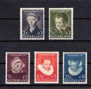 Netherlands 1956 Child Welfare Trust Set [Unused]