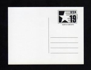 CVUX3, UPSS #PB3a2 Mint Postal Card, TYPE C BACK, UPSS Cat 110.00