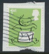 Great Britain SG 3675 Used  - Smilers Booklet stamp 2015  SC# 3354c