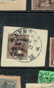 MALAYA JAPANESE OCCUPATION PERAK (P2508B) 2C/5C SG J250 SYONAN PIECE CDS VFU