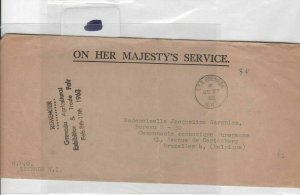 grenada gpo 1963 stamps cover Ref 8439