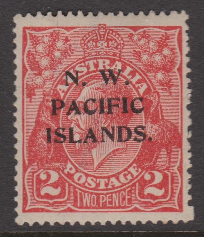 North West Pacific Islands Sc#45 MLH